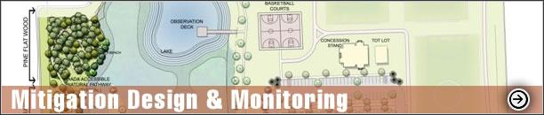 Mitigation Design & Monitoring - Construction Inspection , Time zero & quarterly monitoring